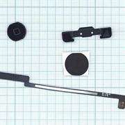 Кнопка Home для Apple Ipad Air черная со шлейфом фото
