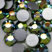 Стразы ДМС+ Bl. Diamond AB ss16 (4mm) (100шт) фото