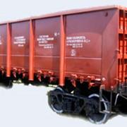 Полувагоны люковые 4-осные модели 12-9745 предназначены для эксплуатации по железным дорогам Украины, стран СНГ, Литвы, Латвии и Эстонии, имеют сертификаты соответствия по УкрСЕПРО и РСФЖТ фото