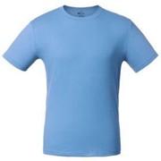 Футболка голубая «T-Bolka 160», размер 4XL фото