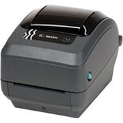 Термотрансферный принтер штрих-кода Zebra GK420T фото