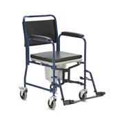 Кресло-коляска с санитарным оснащением для инвалидов Армед H009B фото