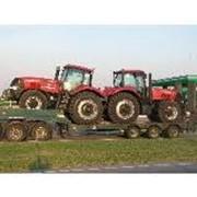 Агротехнологическое сопровождение, перевозка аграрной техники по Украине специализированными автовозами фото