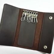 Кожаный футляр для ключей Valenta фото