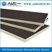 PIR Плита Битумная бумага/битумная бумага 40мм фото