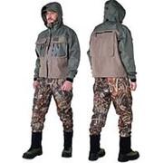 Куртка ALASKAN RIVER MASTER M темно-оливковый/серый фото