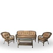 Комплект плетеной мебели LV216 Beige/Beige фото