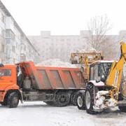 Уборка снега фото