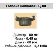 Головка цапковая ГЦ-80 фото