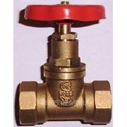 Вентиль-клапан бронзовый d 15, 20, 25, 32 фото