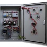 Шкафы управления и защиты электропривода на базе защиты электропривода МЗП-2-01. Передача информации по проводной линии связи с помощью интерфейса RS485 фото