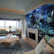 Морской аквариум на заказ фото