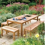 Столы из натурального дерева фото