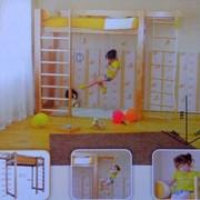 Детская кровать+шведская стенка с39 , мебель для детей в Казахстане фото