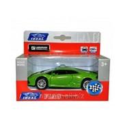 Детская игрушечная модель машинки IDEAL LAMBORGHINI HURACAN,1:43 фото