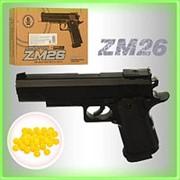 Детский пистолет ZM-26 фото
