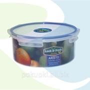 Набор контейнеров для хранения еды Круг 3 шт фото