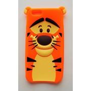 Чехол на Айфон 6/6s Disney faces мягкий Силикон Тигра фото