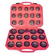 Набор съемников масляных фильтров крышек 30 предметов мастак 103-40030C MACTAK фото