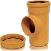 Ревизии ПВХ Ф 110 для канализационных труб фото