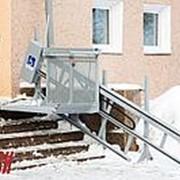 Наклонная подъемная платформа для инвалидов в Омске фото