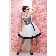 Короткое вечернее платье Диор короткий №4 фото