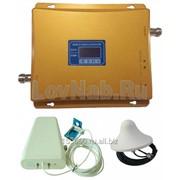 Усилитель сотовой связи высокой мощности 65db двухдиапазонный для сотовых телефонов 900+1800 мГц фото