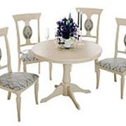 Обеденная группа для столовой и гостиной ТриЯ Стол Орландо Т1 + Денвер Тип 1 фото