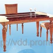 Стол мраморный обеденный A2 фото