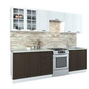 Прямой кухонный гарнитур Палермо 250 см фото