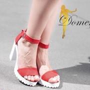 Женские стильные босоножки ,в расцветках фото