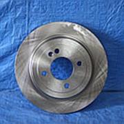 Диск тормозной задний Kia Rio Hyundai Solaris фото