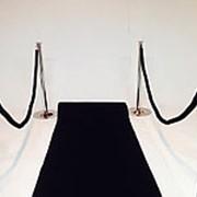 Черная ковровая дорожка (погонный метр) фото