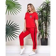 Прогулочный женский костюм (3 цвета) PY/-1025 - Красный фото