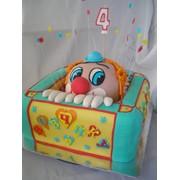 Торт Клоун в коробке, Киев фото