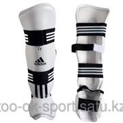 Защита голени и стопы для тхэквондо Adidas WTF Shin Pad Protector фото