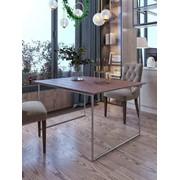 Стол складной (Эпоксидная смола Resin Art) фото