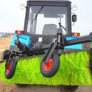 Щетка дорожная коммунальная для трактора МТЗ ( Беларус ) новая фото