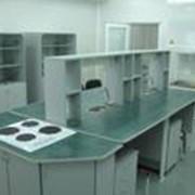 Мебель лабораторная для работы с радиоактивными веществами фото