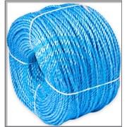 Изделия канатные, веревочные- канат полипропиленовый бельевой-цветной 200 п/м фото