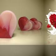 Мыло Сердечко кремовое фото