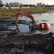 Подъем техники утопленной в болоте фото