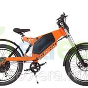 Велогибрид(электровелосипед) Eltreco Sparta New Lux Orange фото