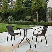 Комплект мебели Асоль-LRC LRC04/LRT07-D60 Dark Brown (2+1) фото