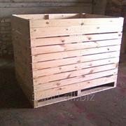 Деревянный контейнер для хранения картофеля голландского типа фото