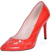 Туфли BB collection лодочки красные 5300 скл фото
