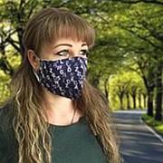 Комплект санитарно-гигиенических защитных масок, бязь(10 шт) фото