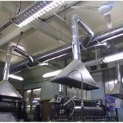 Промышленная вентиляция и аспирация фото
