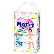 Трусики-подгузники Merries L 9-14кг 42/44шт фото