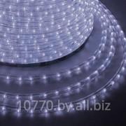 Дюралайт светодиодный, постоянное свечение(2W), холодный белый, 220В, бухта 100м фото